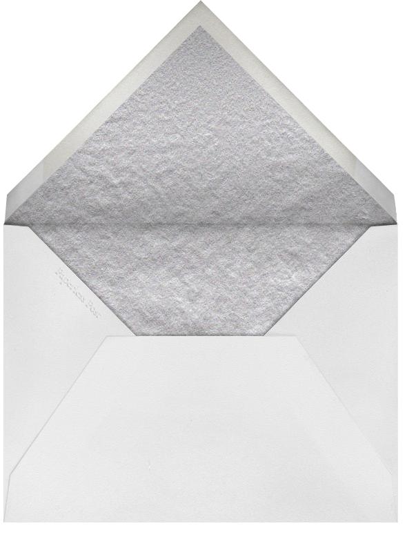 Silk Brocade II - Amethyst - Oscar de la Renta - All - envelope back