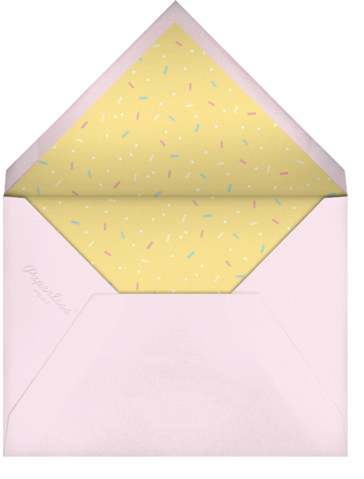 Treat Yourself - Paperless Post - Envelope