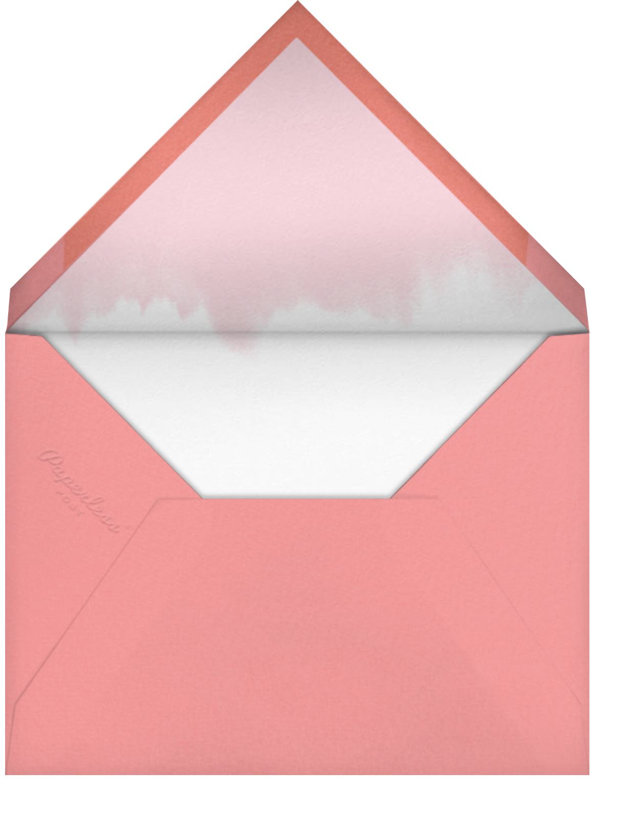 Beautiful and Fabulous  - Paperless Post - Mother's Day - envelope back