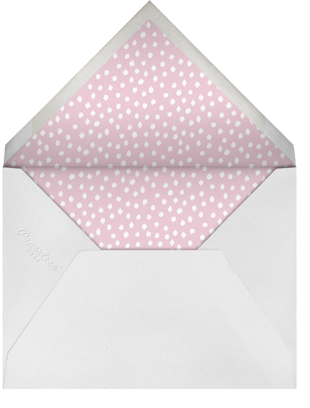 Ikat Dot - Pink - Oscar de la Renta - All - envelope back
