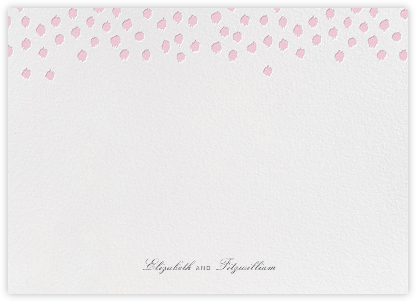 Ikat Dot (Stationery) - Light Pink | null