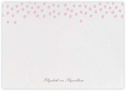 Ikat Dot (Stationery) - Light Pink - Oscar de la Renta -