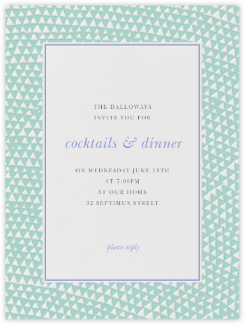 Armadillo - Celadon and Cornflower - Paperless Post - Business event invitations