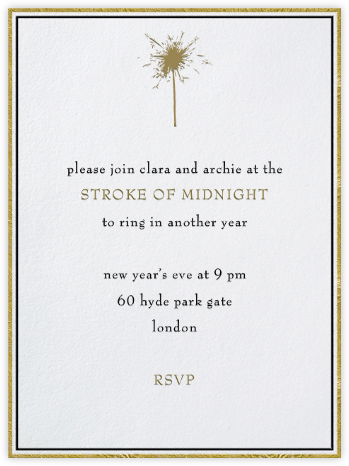 Pall Mall - Paperless Post - New Year's Eve Invitations