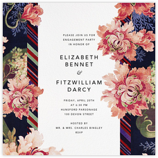 Engagement party invitations - online at Paperless Post
