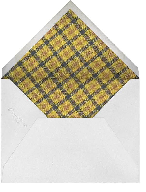 Technicolor Plaid - Oscar de la Renta - Cocktail party - envelope back