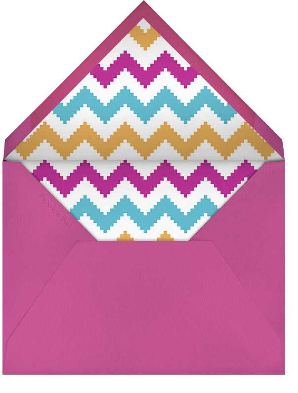 Circus Games - Jonathan Adler - Kids' birthday - envelope back