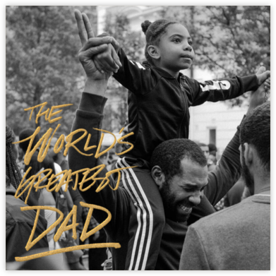 World's Greatest Dad (Photo) - Paperless Post - Father's Day Cards