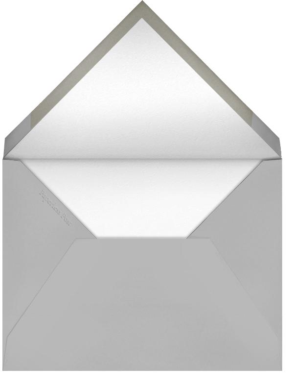Frame Flourish - Black - Bernard Maisner - Cocktail party - envelope back