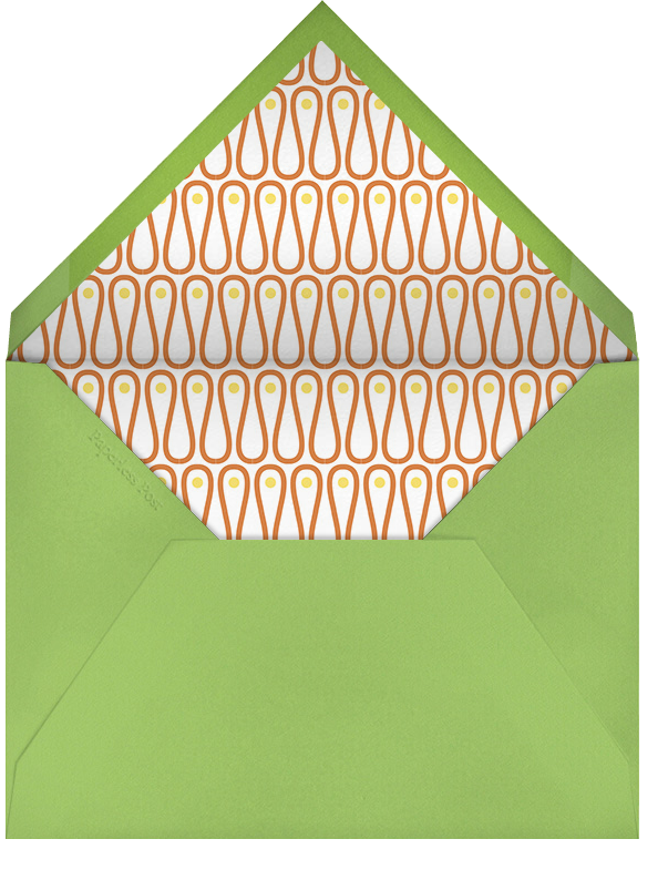 Margarita Mixer - Jonathan Adler - Cocktail party - envelope back