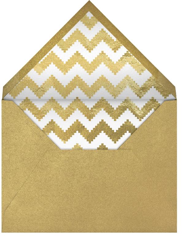 Royal Glam - Ivory - Jonathan Adler - Kids' birthday - envelope back
