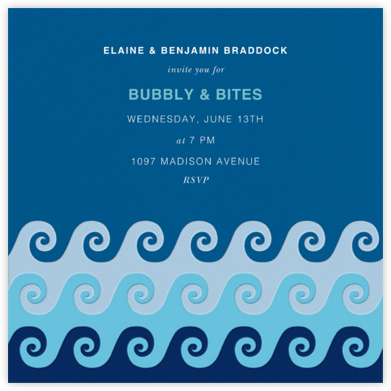 Tide Pool - Jonathan Adler - Pool Party Invitations
