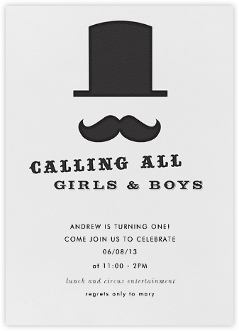 Calling All Mustaches - Paper + Cup - Paper + Cup