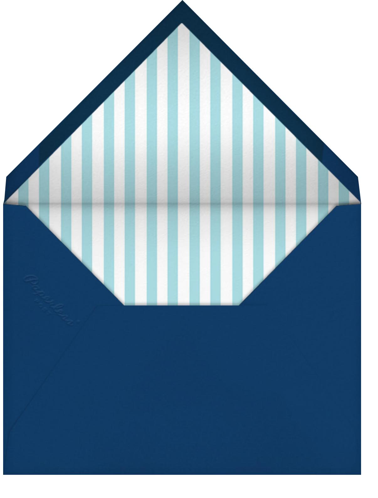 Deep End - Mr. Boddington's Studio - Pool party - envelope back