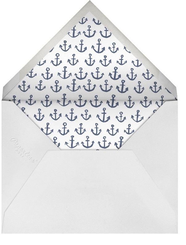 Maritime - Navy - Linda and Harriett - Beach party - envelope back