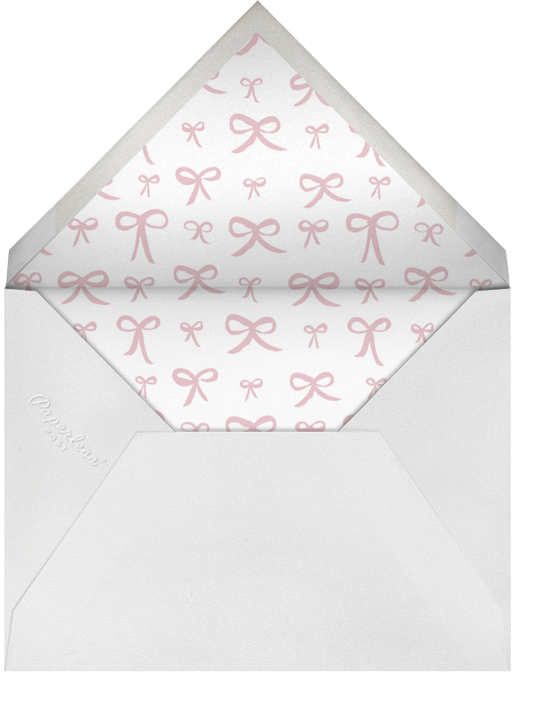 Bows and Bows Photo - Pale Pink - Linda and Harriett - Envelope