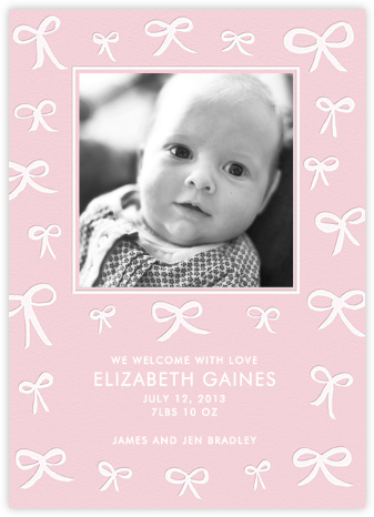 Bows and Bows Photo - Pale Pink - Linda and Harriett -