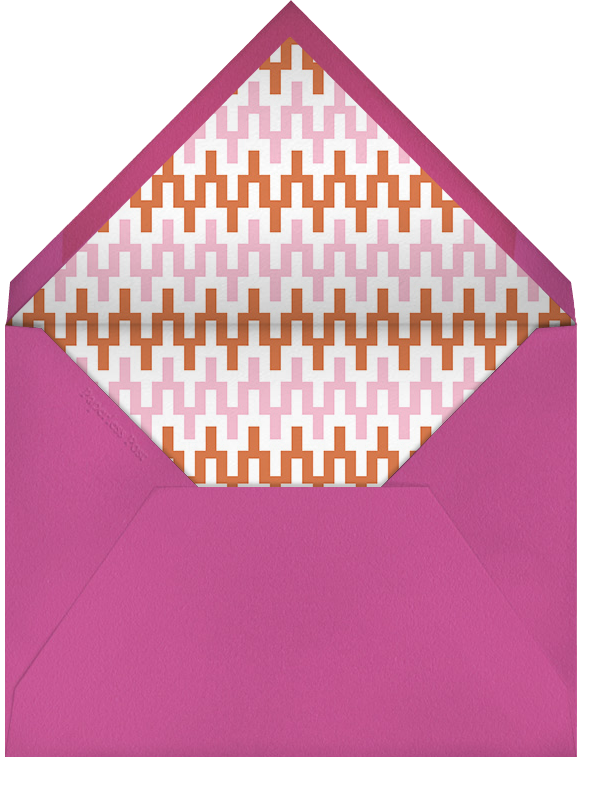 Positano - Pink - Jonathan Adler - Summer entertaining - envelope back