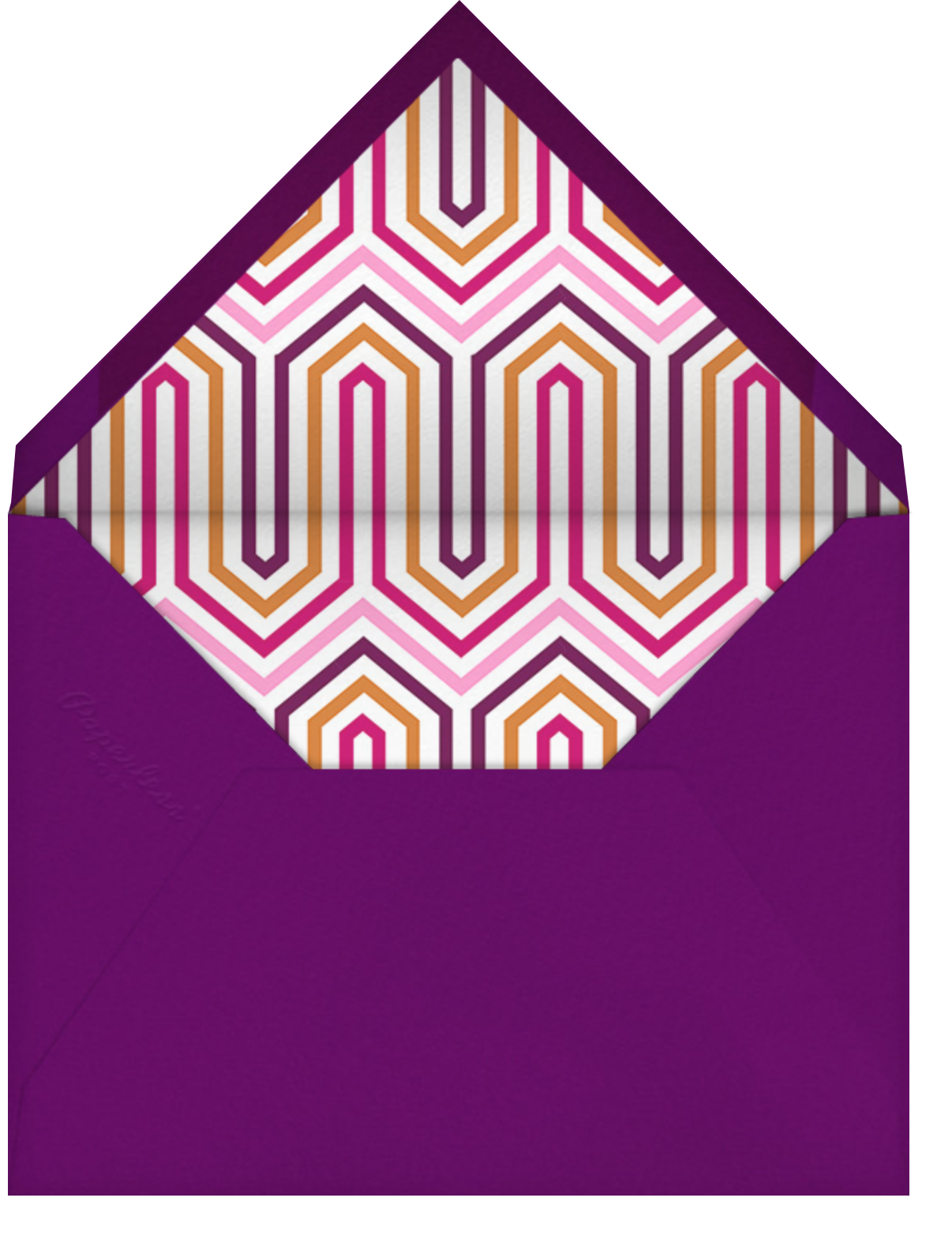 Party Ball - Jonathan Adler - Beach party - envelope back