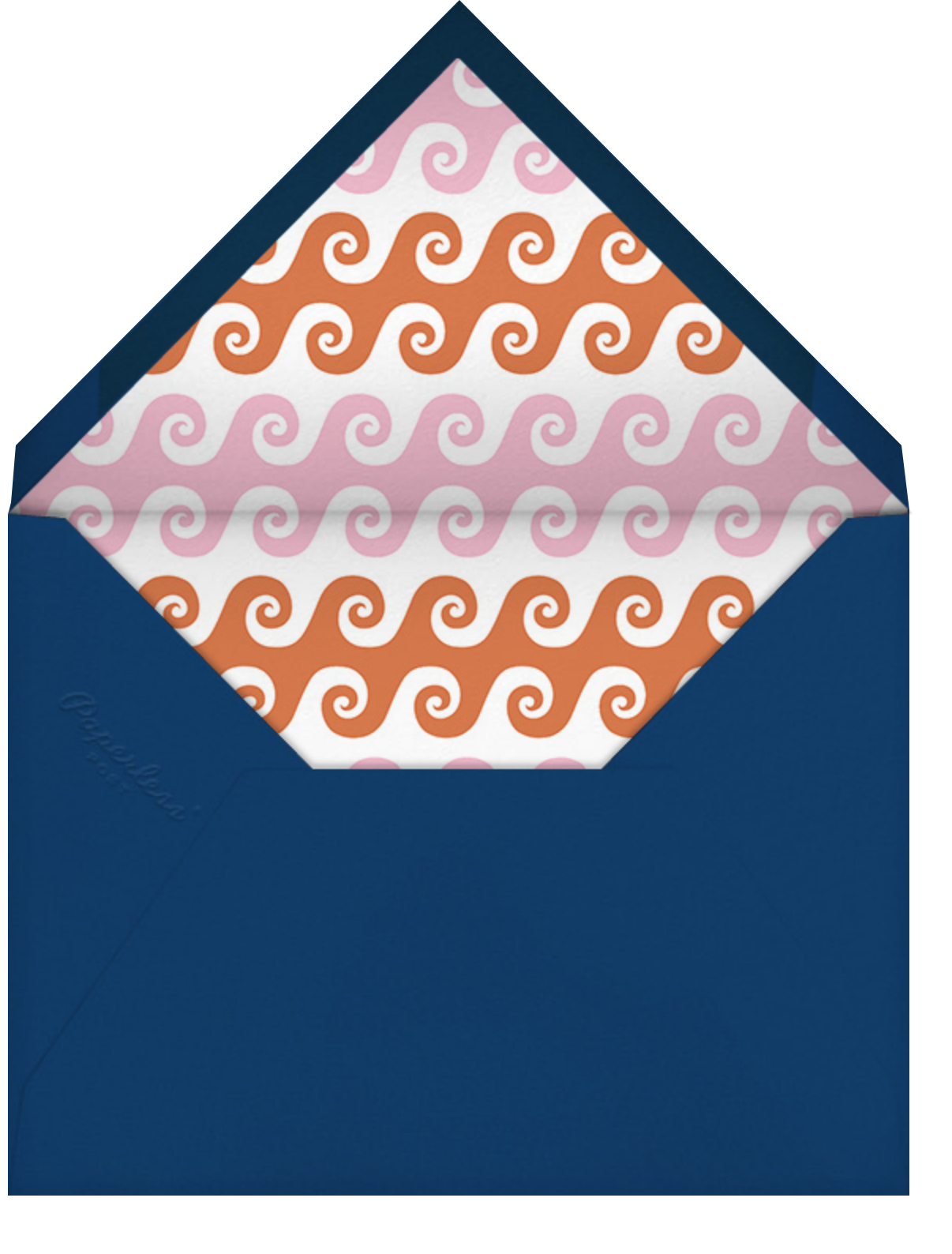 Day at the Beach - Jonathan Adler - Beach party - envelope back