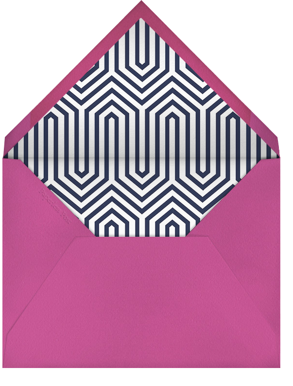 Bargello Square - Jonathan Adler - Cocktail party - envelope back