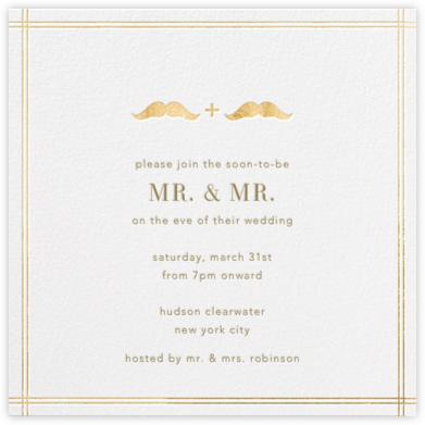 Mr. and Mr. Stache - Jonathan Adler - Jonathan Adler wedding