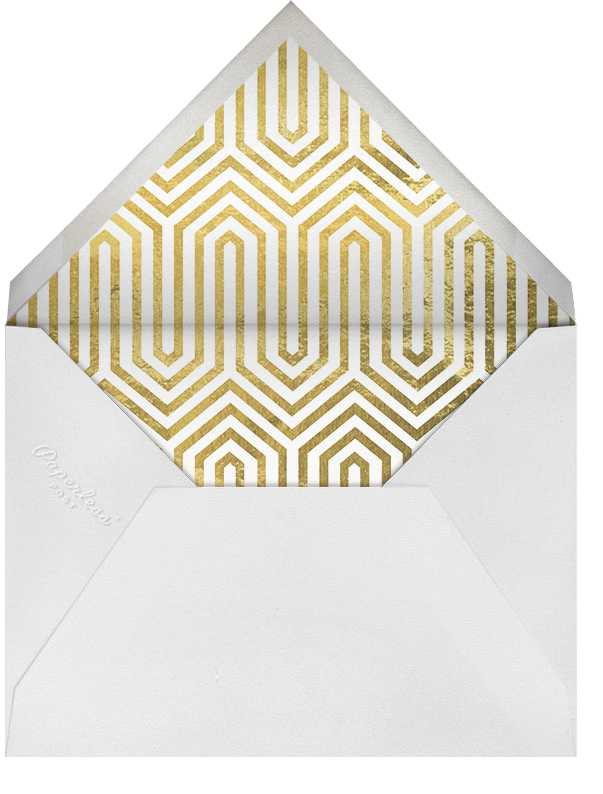 Santorini - Jonathan Adler - Engagement party - envelope back