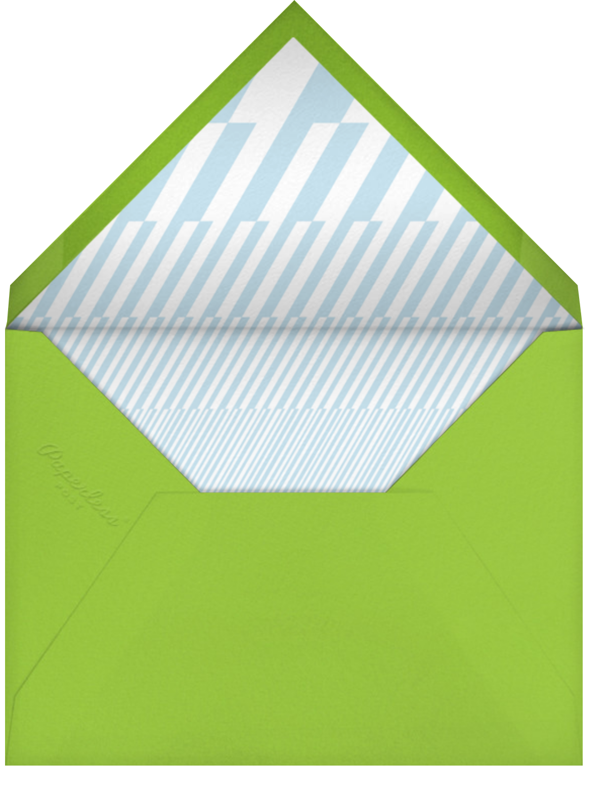 Pool Toys - Paperless Post - Pool party - envelope back