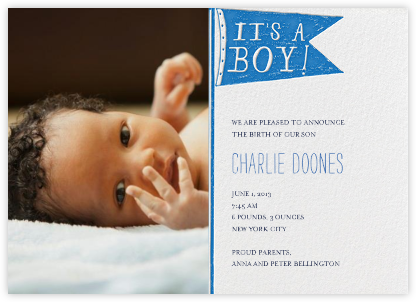 I Need a Diaper - Ocean - Mr. Boddington's Studio - Birth Announcements