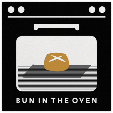Bun In The Oven - Black - The Indigo Bunting -