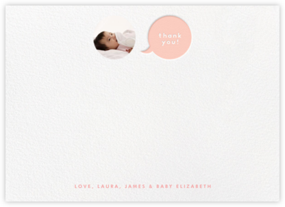 Polka Dot Baby (Thank You) - Pink | horizontal