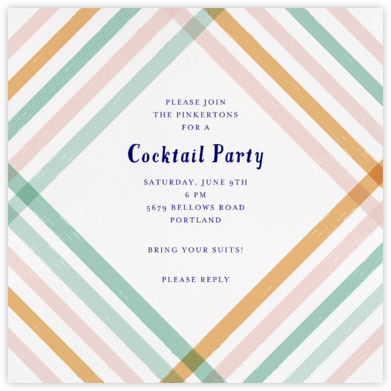 Endless Summer - Multi - Mr. Boddington's Studio - Summer Party Invitations