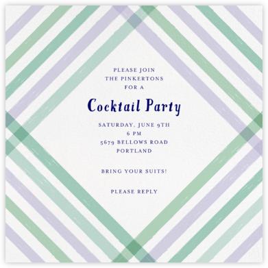 Endless Summer - Purple - Mr. Boddington's Studio - Summer Party Invitations