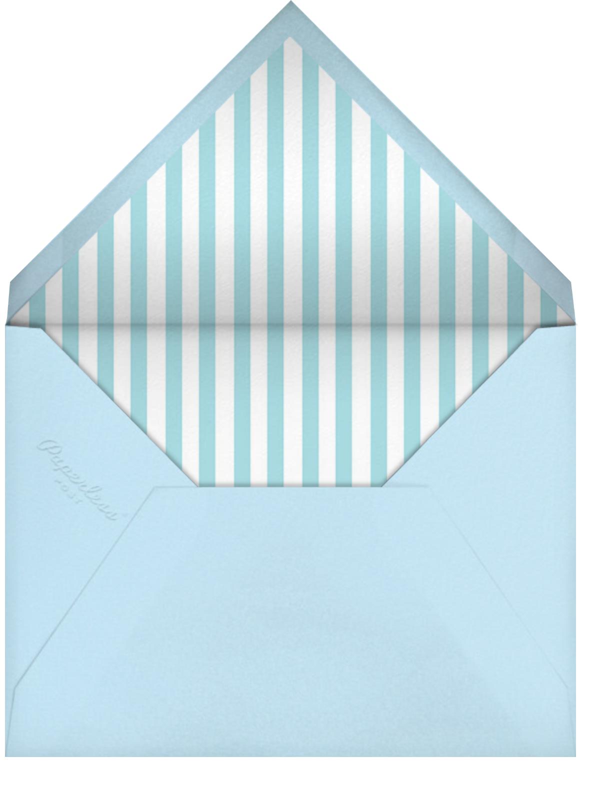 Fresh Cut Flowers - Green - Mr. Boddington's Studio - General entertaining - envelope back