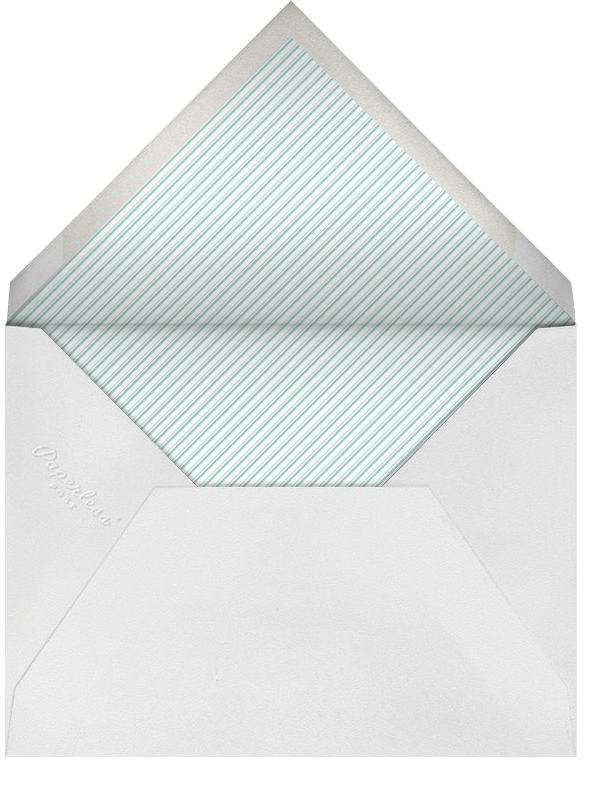 Wood Grain Dark - Tall - Paperless Post - Adult birthday - envelope back