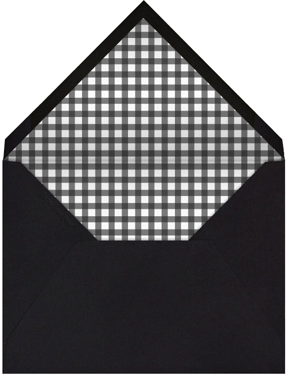 Wood Grain Light (Tall) - Paperless Post - Cocktail party - envelope back