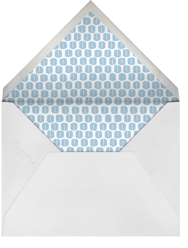 Ribbons for Baby - Blues - Mr. Boddington's Studio - Baptism  - envelope back