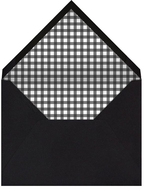 Wood Grain Dark - Tall - Paperless Post - Thanksgiving - envelope back