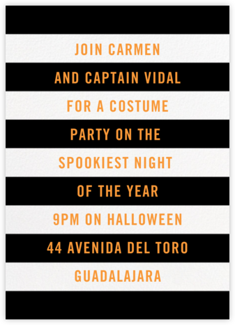 Wicked - Black/White - Paperless Post - Halloween invitations