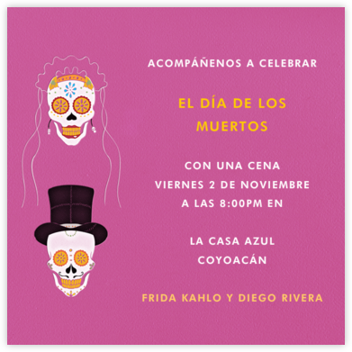 Dia de los Muertos - Barbie - Paperless Post - Parties