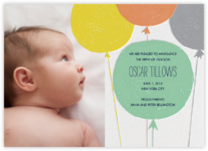 Baby Cheeks - Pond - Mr. Boddington's Studio - Birth Announcements