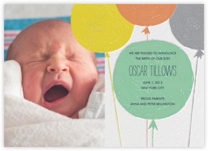 Baby Cheeks - Pond - Mr. Boddington's Studio - Birth Announcements
