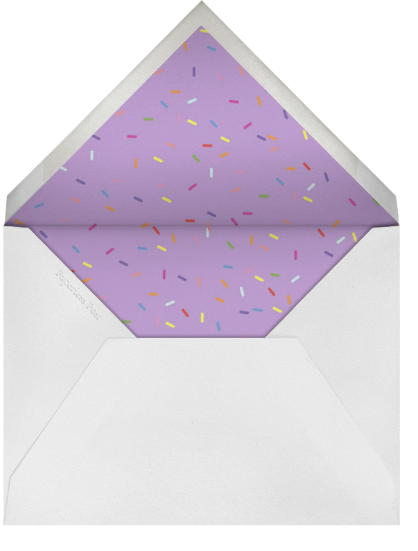 Bevel - Ivory with Pink  - Paperless Post - Envelope