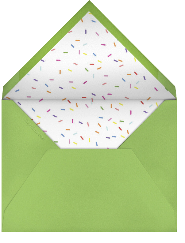 Bevel - Ivory with Green - Paperless Post - null - envelope back