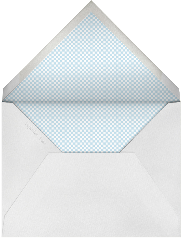 Bevel - Ivory with Blue - Paperless Post - Envelope