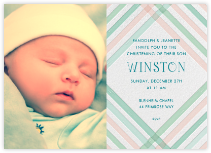 Baptism invitations online at paperless post what a darling pink stopboris Gallery