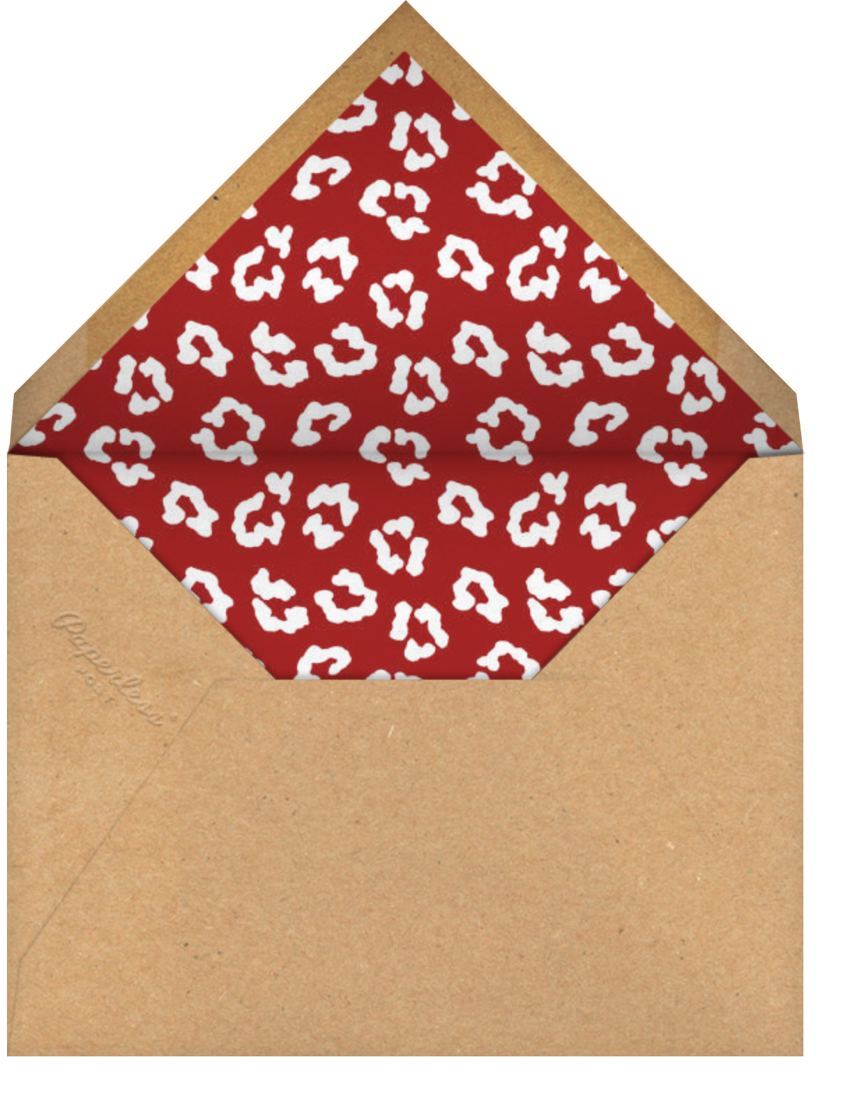 Strongman - Gold - Paperless Post - Father's Day - envelope back
