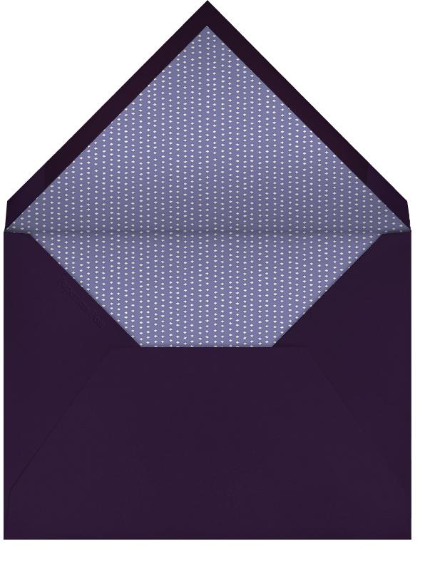 Kangaroo (Ivory with Purple) - Paperless Post - null - envelope back