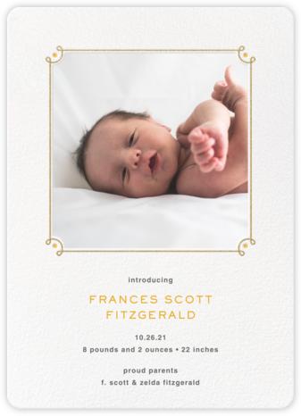 Nursery Rhyme - Paperless Post - Birth Announcements