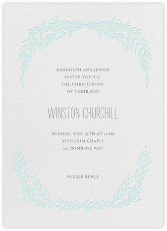 Laurel in Love - Powder - Mr. Boddington's Studio - First communion invitations